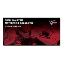 PRE ORDER TIKET MOTOGP SHELL MALAYSIA MOTORCYCLE GRANDPRIX 2017 SIC RACINGTEAM (K2 UNCOVERED)