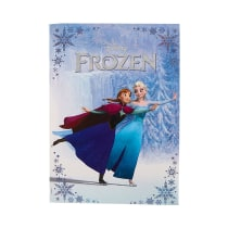 DISNEY FROZEN POSTER DENGAN MAP