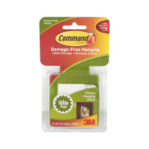 3M STRIP COMMAND SMALL PICTURE HANGING - 8 PCS