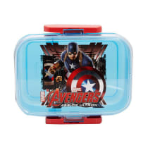 MARVEL TEMPAT MAKAN CAPTAIN AMERICA THE AVENGERS 750 ML - BIRU
