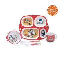 DISNEY SET ALAT MAKAN ANAK MICKEY MOUSE 5 PCS