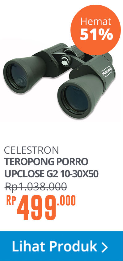 CELESTRON TEROPONG PORRO UPCLOSE G2 10-30X50