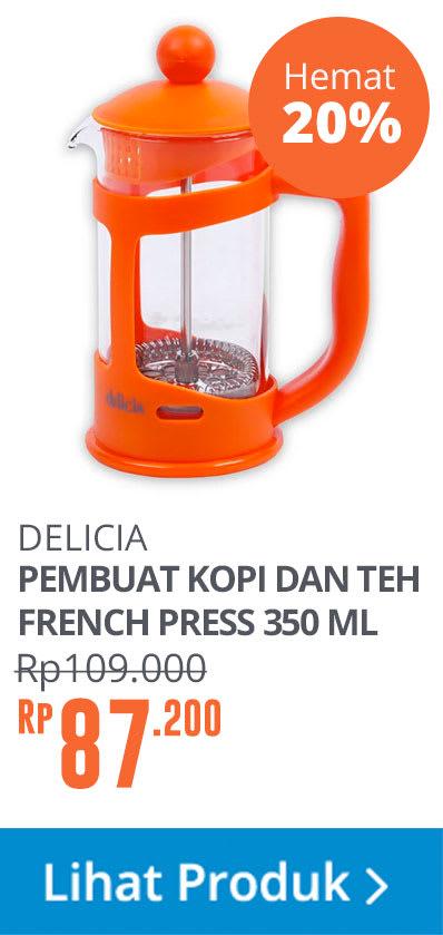 COFFEE MKR BRSLC CFTR ORG 350ML YLT03PP