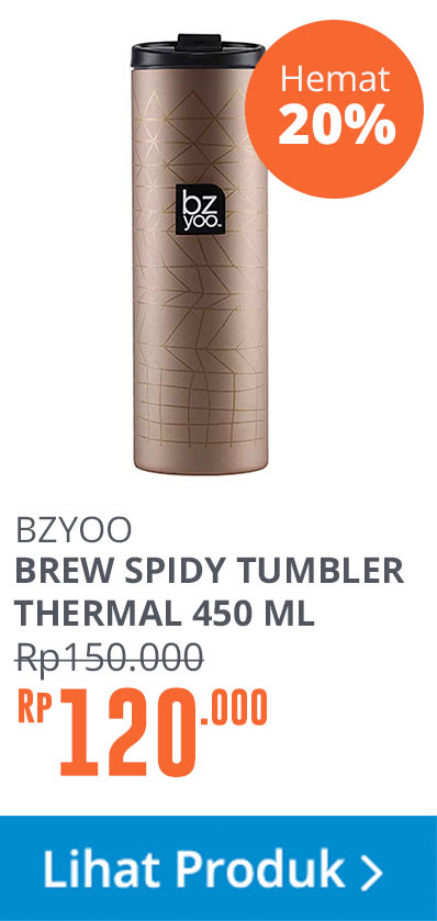 THERMAL BOTTLE BREW GOLD 450ML