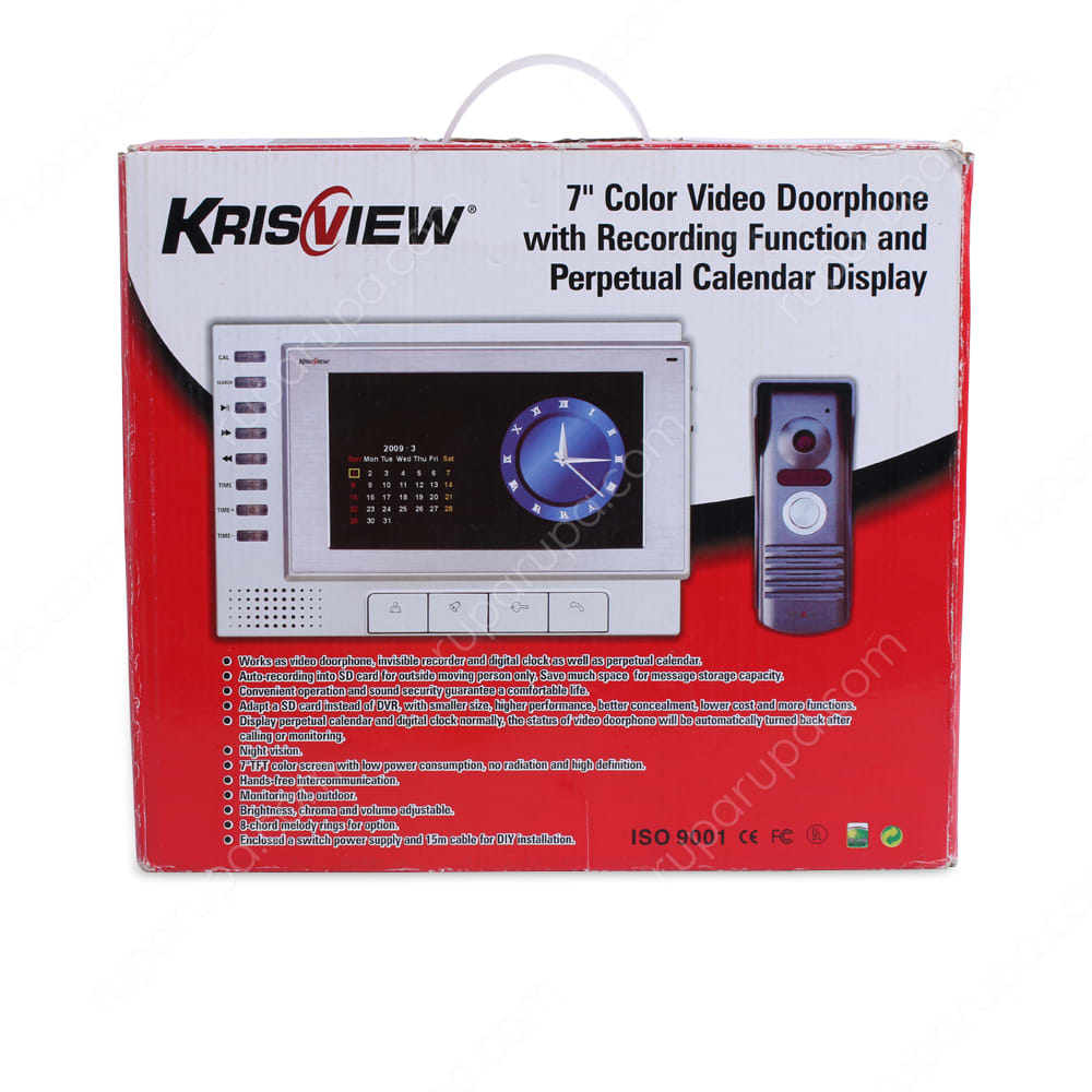 krisview intercom pintu 7 inci