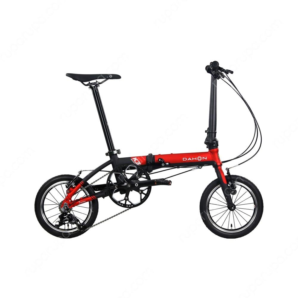 Jual Dahon Sepeda Lipat 19 K 3 Merah Hitam Terbaru Ruparupa