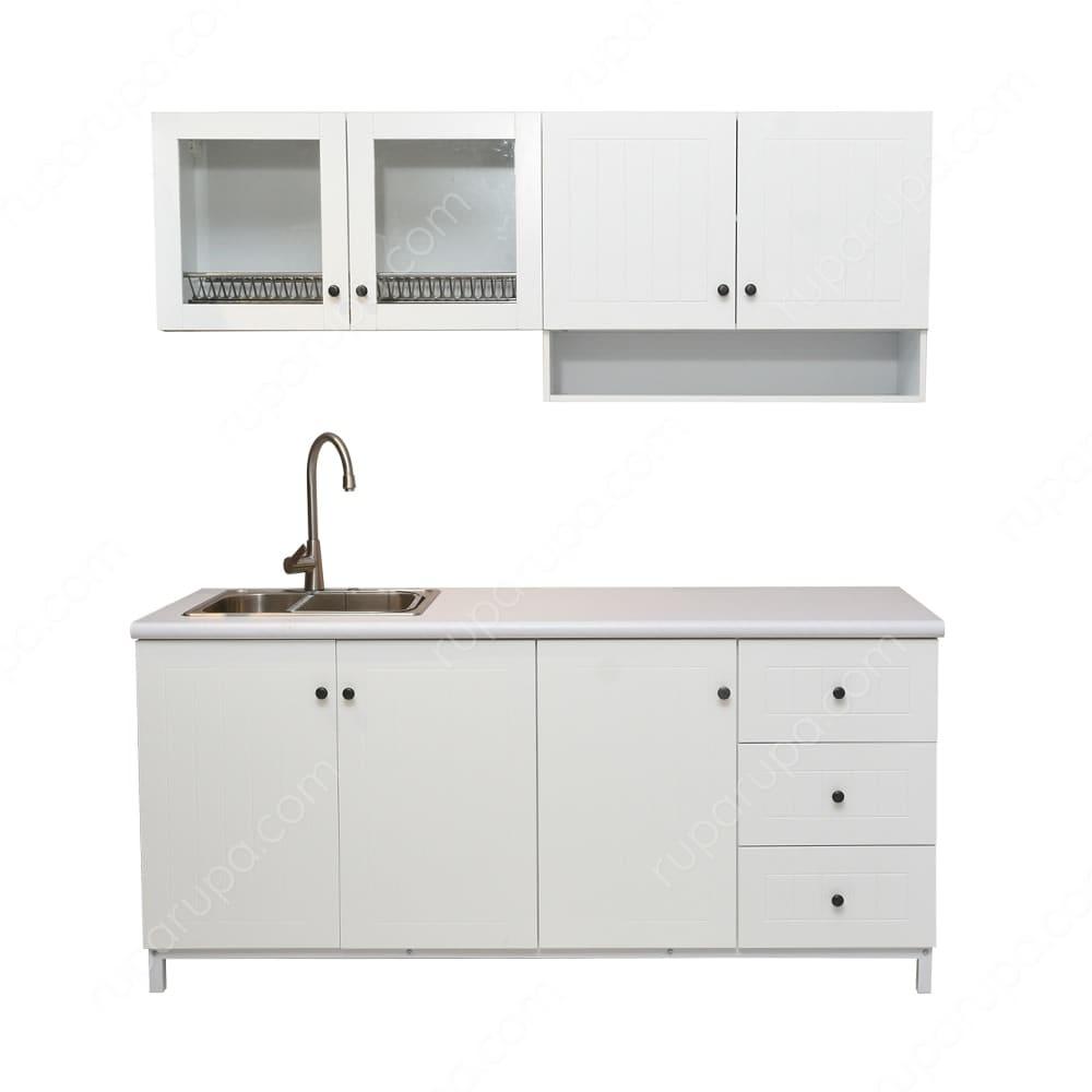 Jual Drew Kitchen Set Putih Terbaru Ruparupa