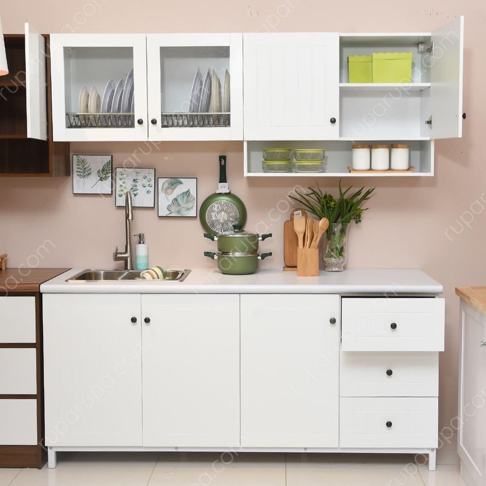 Jual Drew Kitchen Set Putih Terbaik | Informa