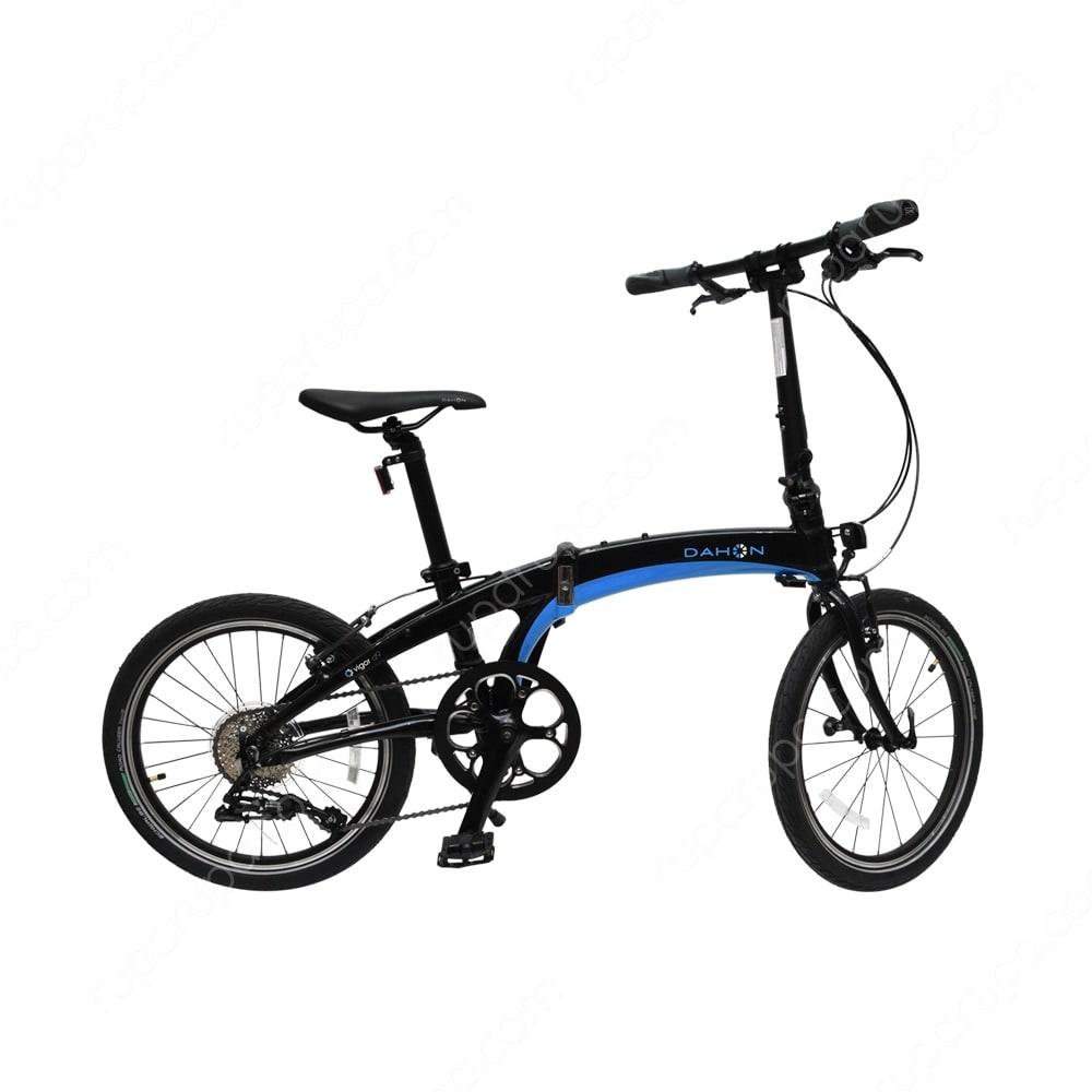 Jual Dahon Sepeda Lipat Vigor D 9 20 Inci Hitam Biru