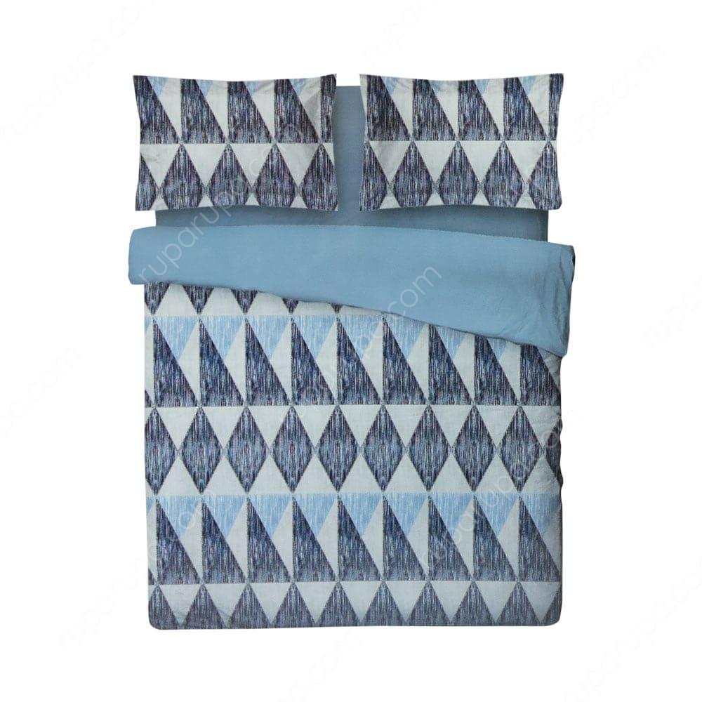 Jual Bed Cover Microfiber Alice 240 X 210 Cm Biru Terbaik Informa