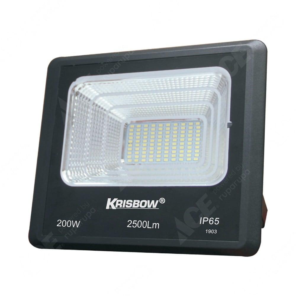 Jual Krisbow Lampu Sorot Solar 200 W 2500 Lm Original Ace
