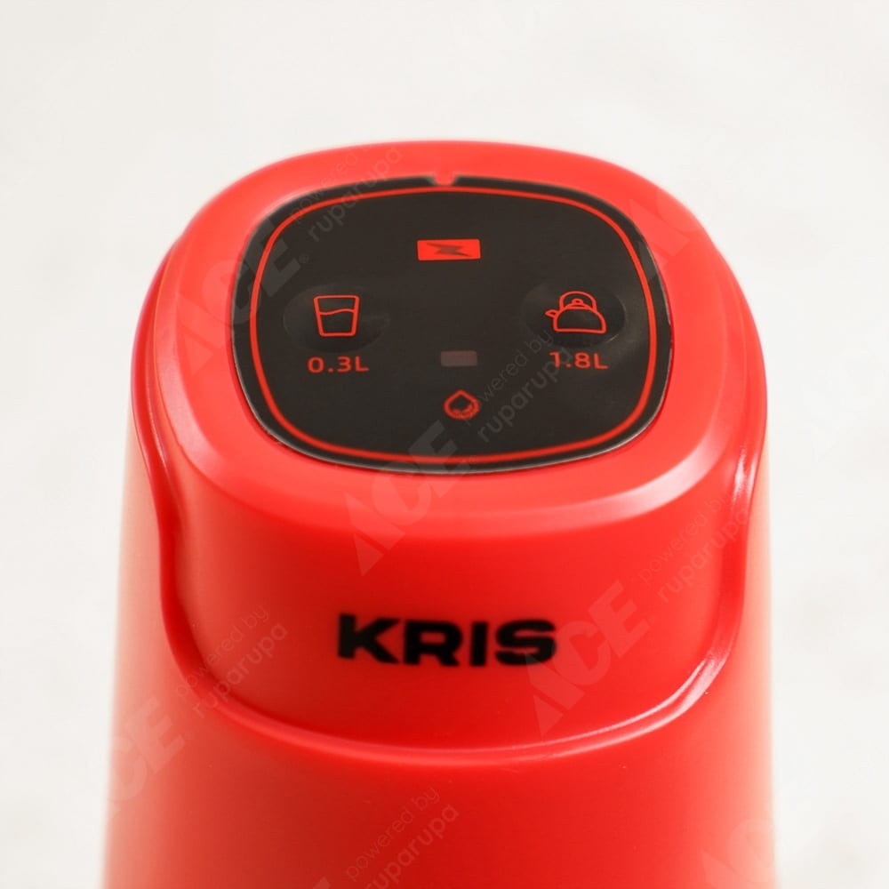 Jual Krischef Pompa Air Galon Rechargeable Merah Original Ace
