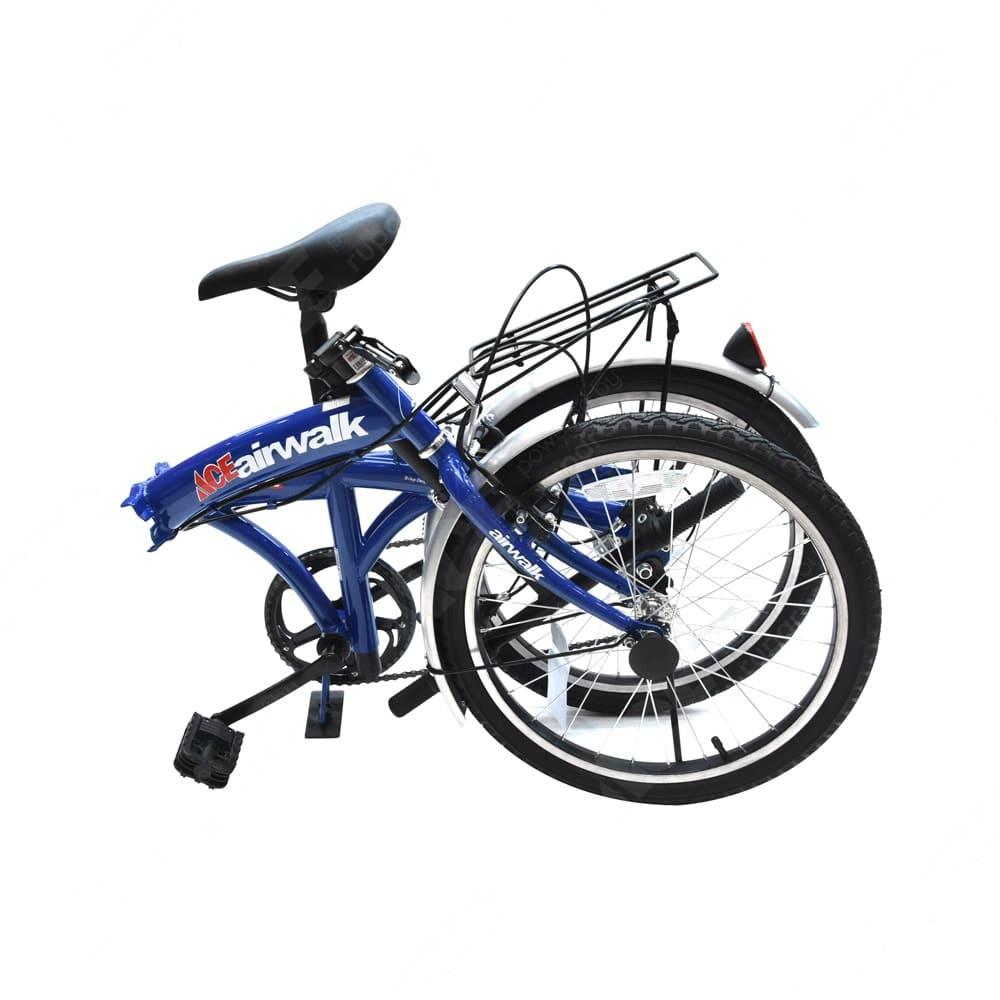 Jual Airwalk Expresso Sepeda Lipat 20 Inci 6 Speed Biru Original Ace
