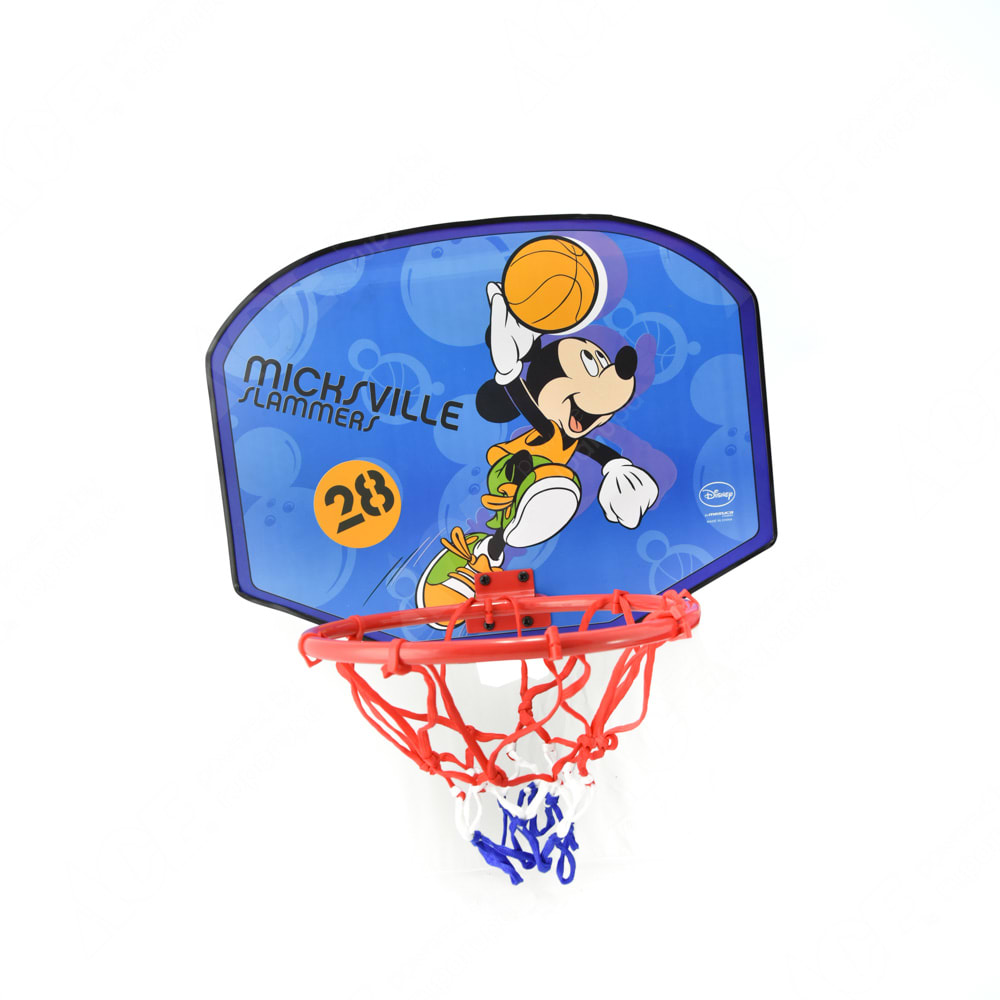 Disney Papan Bola Basket Kecil Medium Biru
