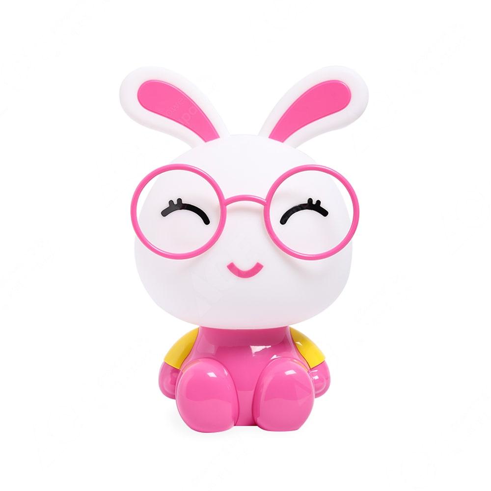 Kris Lampu Meja Kelinci Pink