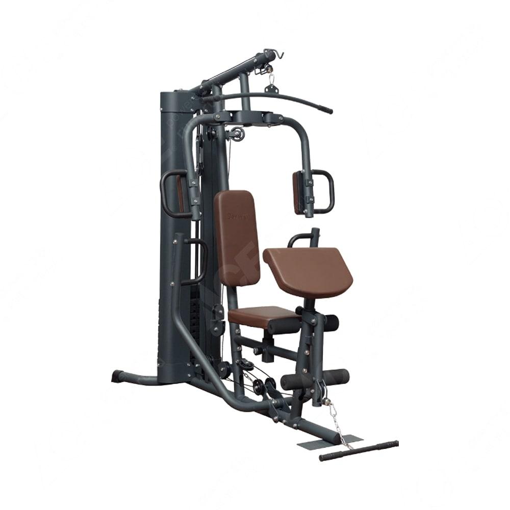 Berwyn Set Alat Fitness Multifungsi B1 68 Kg Abu Abu Biru