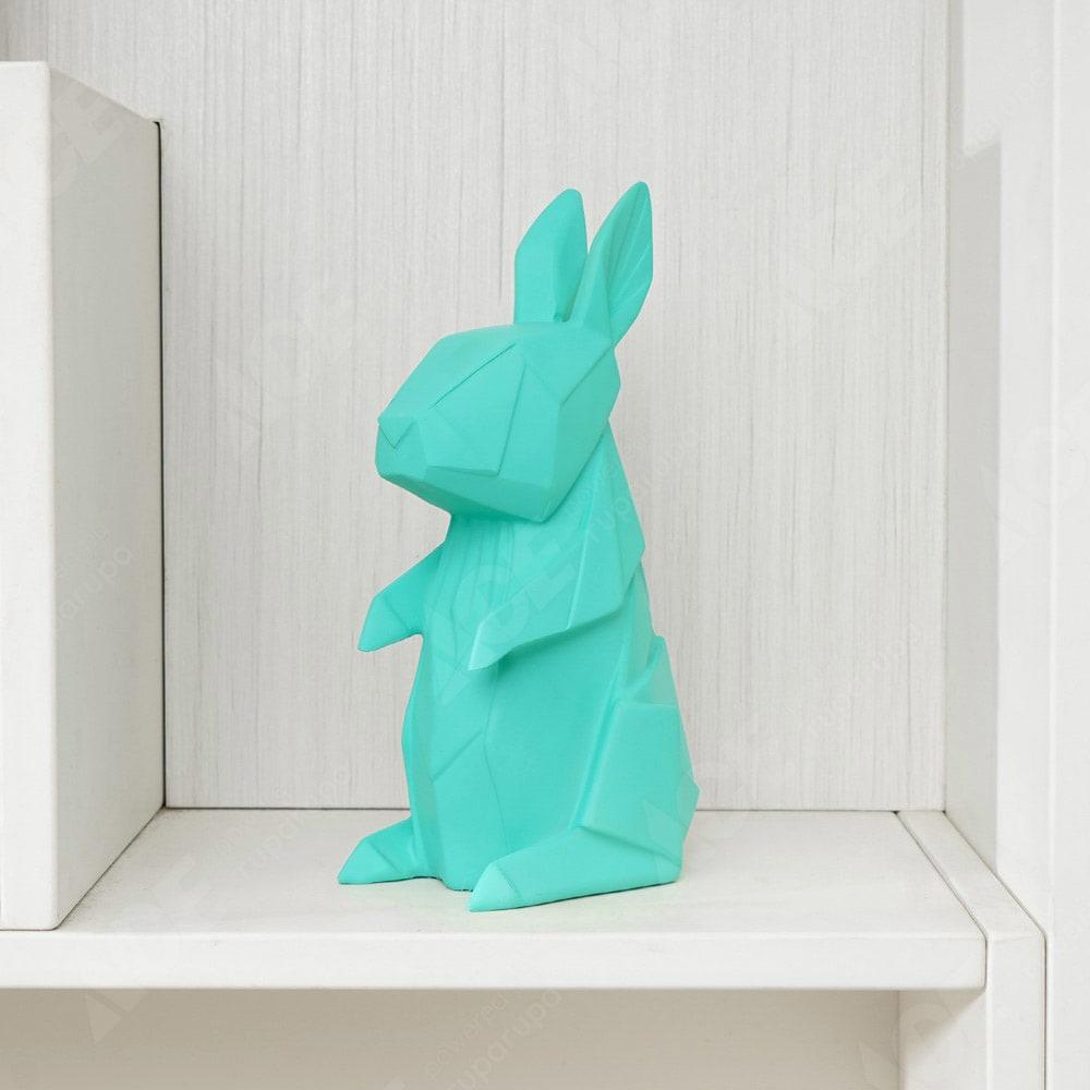 Ataru Lampu Hiasan Origami Kelinci Hijau