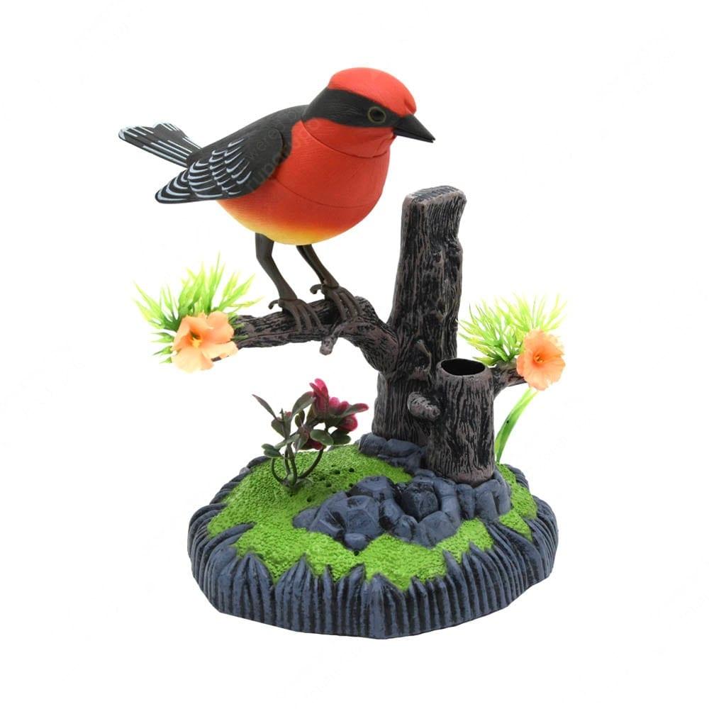 Ornamen Taman Burung Red Vermilion Flycatcher