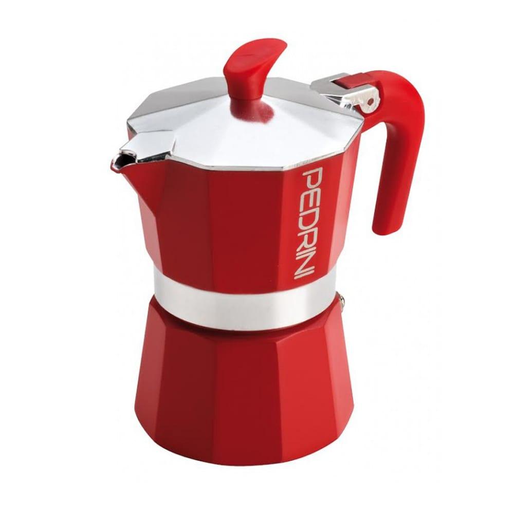 Jual Pedrini Moka Pot Coffee Maker 6 Cup Merah Terbaru ...