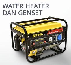 Water Heater dan Genset