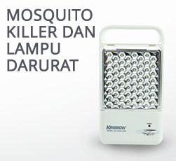 Mosquito Killer dan Lampu Darurat