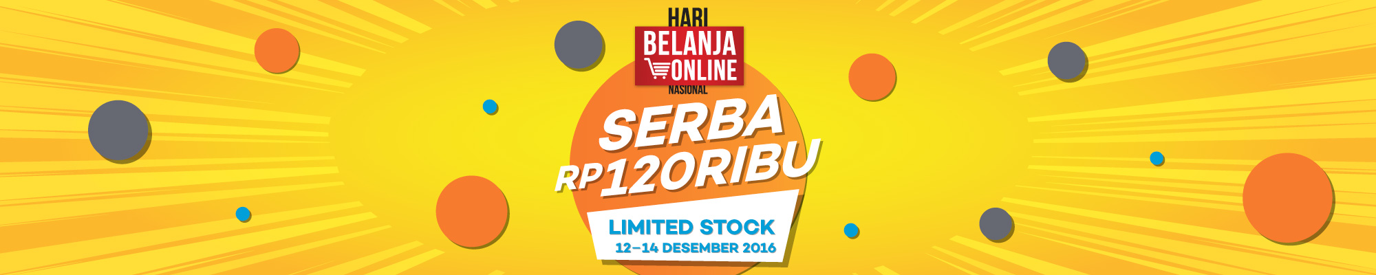 Harbolnas 2016 Hari Belanja Online Nasional 2016 - Buy It Now! November Desember 2016