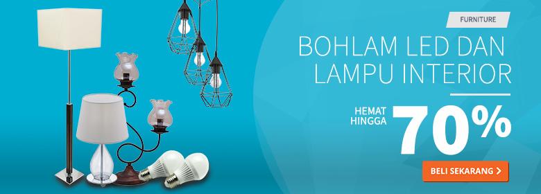 Bohlam LED dan Lampu Interior Hemat 70 Persen
