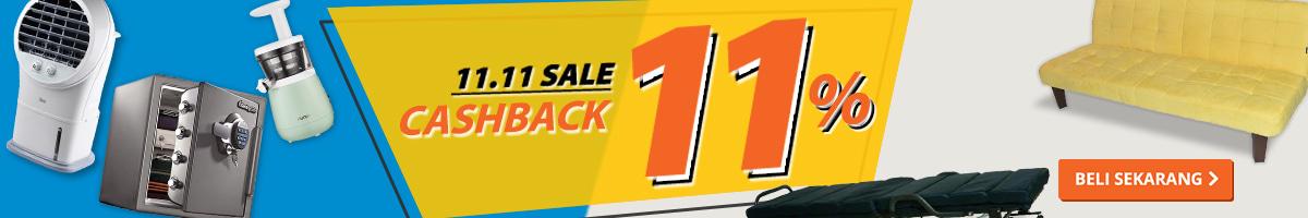 Promo Ruparupa.com: #SHOPPINGJAMANNOW - Cashback 11%