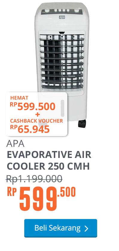 APA EVAPORATIVE AIR COOLER 250 CMH - Putih