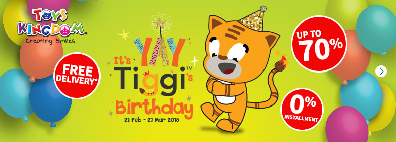 Toys Kingdom - Yay It's Tiggi's Birthday
