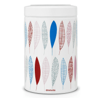 BRABANTIA PAULINE CANISTER STAINLESS 1.4 LTR - PUTIH