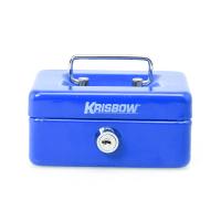KRISBOW CASH BOX 5 INCH - BIRU