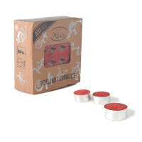 KRIS LILIN TEALIGHT 100 PCS - MERAH