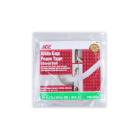 ACE ISOLASI PVC FOAM WIDE GAP 9.5MM X 19MM X 3 MTR