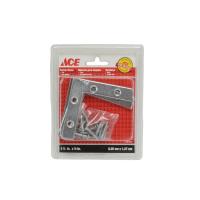 ACE BRAKET SUDUT BESI FLAT 2.5 X 0.5 INC - 4 PCS