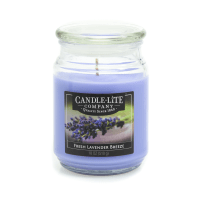 CANDLE LITE FRESH LAVENDER BREEZE LILIN AROMATERAPI 510 GR