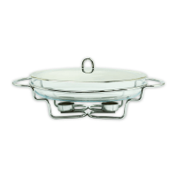DELICIA PYREX PENGHANGAT SUP OVAL 3 LTR