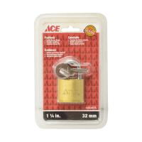 ACE GEMBOK KUNINGAN 1-1/4 INCI