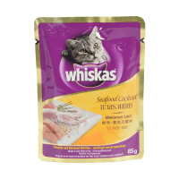 WHISKAS POUCH SEAFOOD COCKTAIL 85 GR