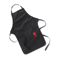 WEBER KAIN APRON BARBEQUE - HITAM