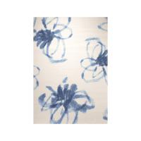 ESPRIT KARPET 115X170 CM MOTIF GRAPHIC FLOWER - PUTIH