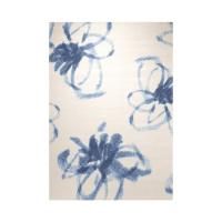 ESPRIT KARPET 160 X 230 CM MOTIF GRAPHIC FLOWER - PUTIH