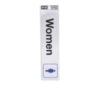 HY-KO STIKER ANODIZED WOMEN 0.02X2X8.5 CM