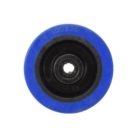 KRISBOW RODA TROLI HEAVY DUTY 100 MM - BIRU