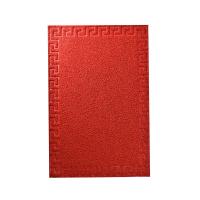 KESET PVC MOTIF 50X70 CM - MERAH