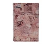 KRISBOW KOTAK BENTUK BUKU MOTIF PARIS 24.2X17X6CM - COKELAT