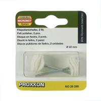 PROXXON SET FELT POLISHER NO 28 299 2 PCS - PUTIH
