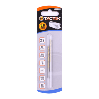 TACTIX SET MATA BOR METAL HSS 3MM 2 PCS