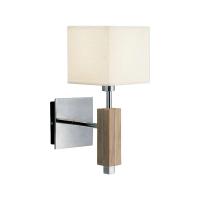 MARKSLOJD MILTON LAMPU DINDING - OAK STEEL