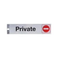 HY-KO STIKER ANODIZED PRIVATE 0,02X2X8,5 CM